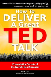 "My previous book, ""How to Deliver a Great TED Talk"": http://amzn.to/11XNgc9"